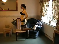 Milf in Nylon and Stockings.wmv