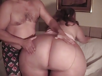 Incredible SSBBW ass tease and hot fuck