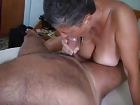 Italian old wife with Big bOObs