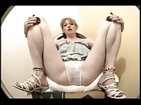 old whore let her fuck holes filming in prison cell-part 2
