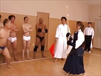 Kendo girl fights