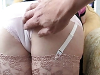 Neighbor loves my panties