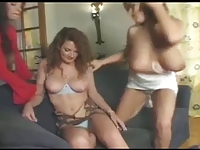 Great Booby Lesbian Threesome!!!!!!