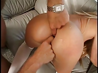 horny chick double dicked
